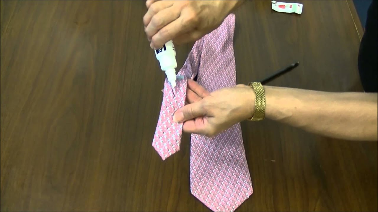 How To Remove Ink From A Vineyard Vines Silk Tie Using Amodex