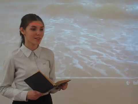 Изображение предпросмотра прочтения – МарияКяжкина читает произведение «Душа и имя» М.И.Цветаевой