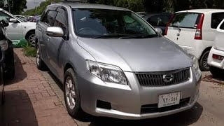 Toyota Corolla FIELDER X 2007 Complete Review