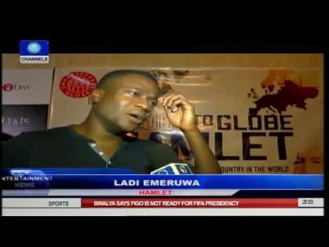 Ladi Emeruwa Shines As William Shakespeare's Hamlet In Lagos