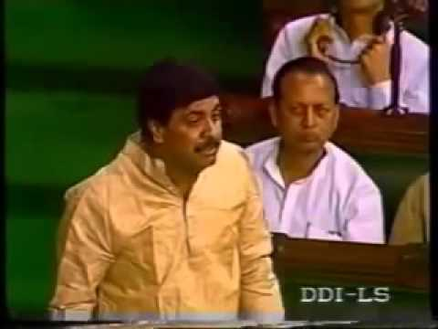 Rocking Speech by Pramod Mahajan In Lok Sabha 1997 | Hilarious !!!