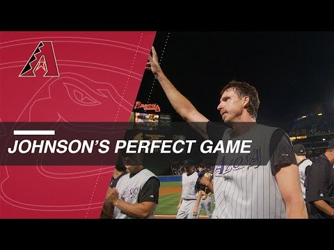 Bottom of the 9th of Randy Johnson's perfect game