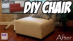 How to Make Furniture Lounge Chairs from 1 Sofa - OurHouse DIY