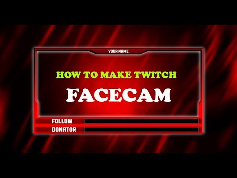 How To Make A Twitch Overlay In Photoshop 2018 (How To Make