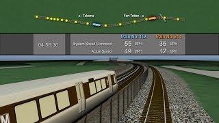 Collision between two Washington Metropolitan Area Transit Authority Trains