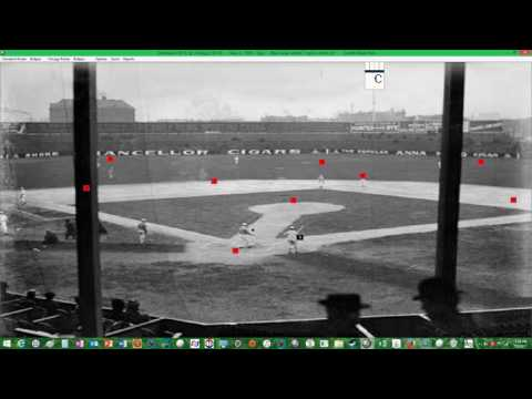 Action! PC Baseball 1905 Season Replay Cleveland @ Chicago