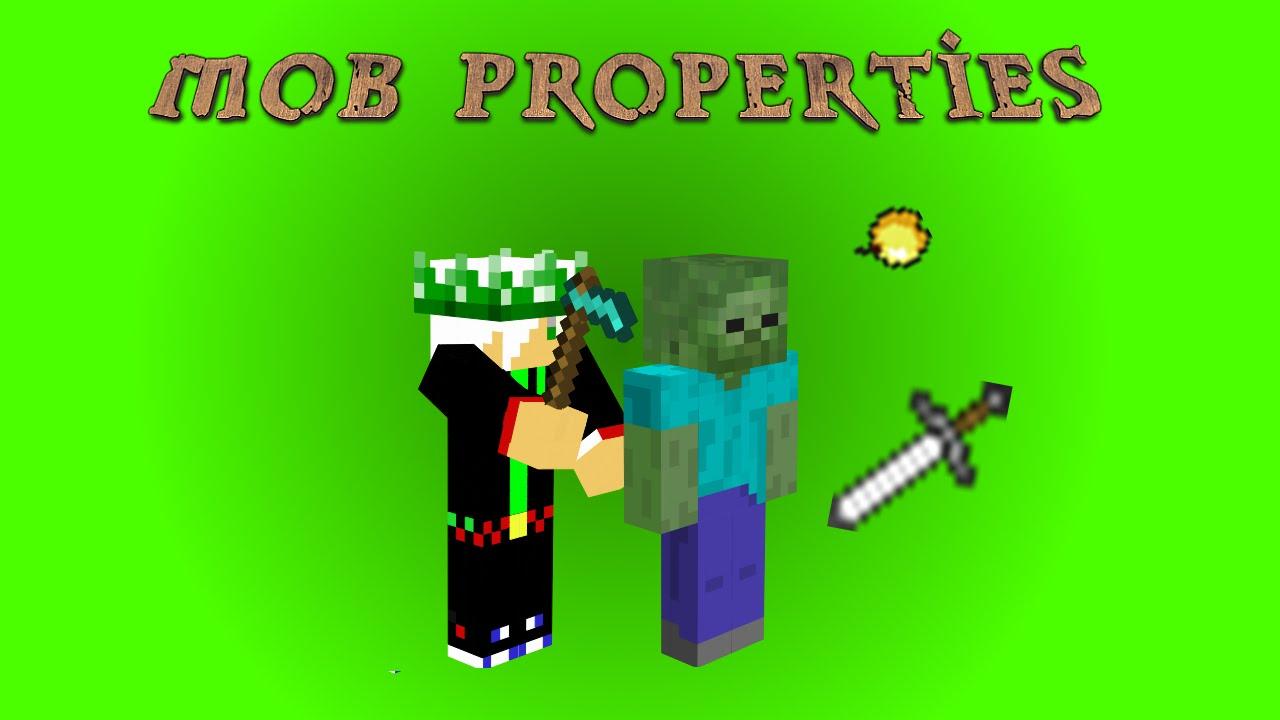мод mob properties для майнкрафт 1.7.10 #2