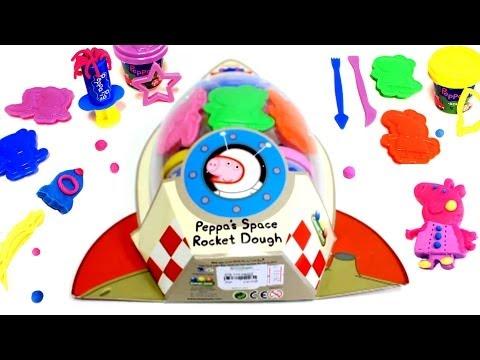 Play-Doh Peppa Pig Playdough Peppa's Space Rocket Dough