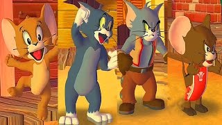 Tom and Jerry War of the Whiskers / REAL VS FAKE / Cartoon Games Kids TV