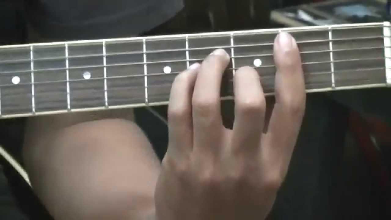 Teknik Dasar Belajar Gitar Untuk Pemula Kunci B Minor Youtube