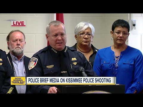 News Conference: 2 Kissimmee officers shot in the line of duty