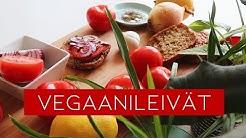 Vegaaniset leivät // Mitä vegaani laittaa leivän päälle? Vol. 1 // Gluteeniton