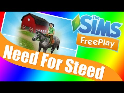 Sims Freeplay | Need for Steed Quest Walkthrough & Tutorial
