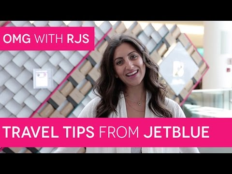 Best Travel Tips from JetBlue Crew Members | OMG with RJS: Episode #13