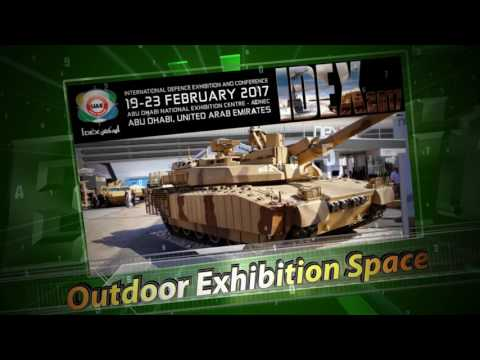 IDEX 2017 Teaser International Defense Exhibition Conference Abu Dhabi UAE United Arab Emirates