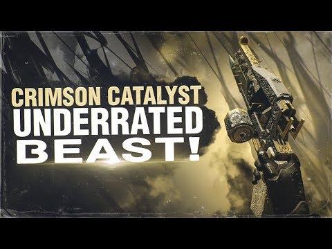 Crimson Catalyst Underrated Beast! Destiny 2 Warmind Exotic