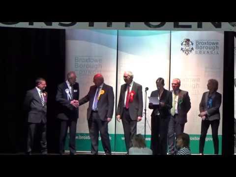 Broxtowe - General Election Declaration