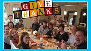 THANKSGIVING DAY WITH OUR FAMILY | Flippin' Katie