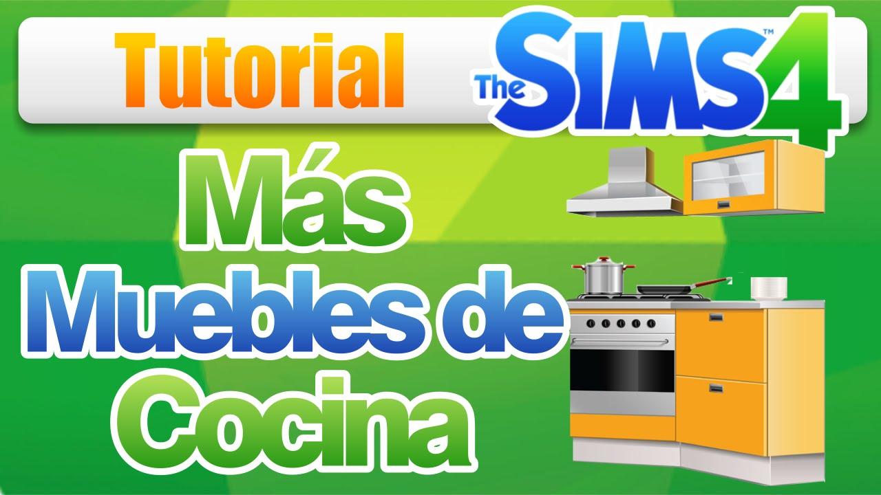 C mo usar los muebles extra para cocina en los sims 4 for Muebles de cocina sims 4