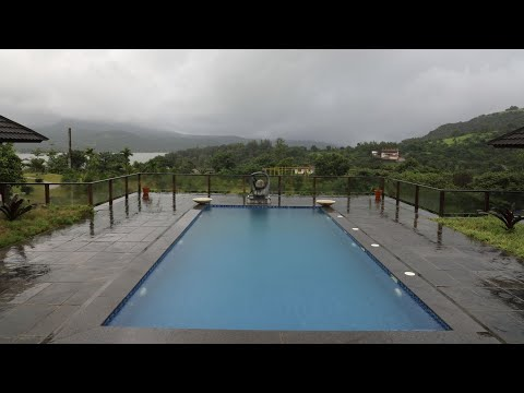 6bhk Bali Style Villa, Pawna - Lonavala in 7 Acres Area