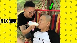 Watch keep laugh EP443 ● The funny moments 2018