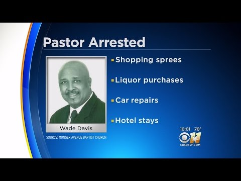 Dallas Pastor Arrested For Theft Of Up To $500K
