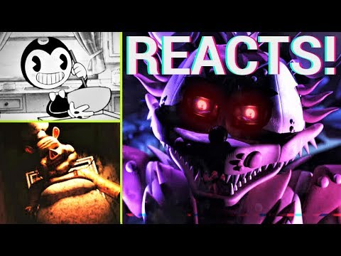 NEW Bendy Cartoon / FNAF Pyro-Illusion trailer / Porkchop's Horror Show screenshots (SHB REACTS)