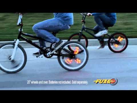 1 count Fuze Wheel Writer 2.0 LED Bicycle Accessory