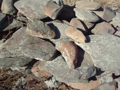 """Stone circles in South Africa, - """"the singing stones""""."""