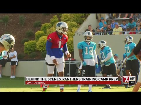 Panthers training camp prep