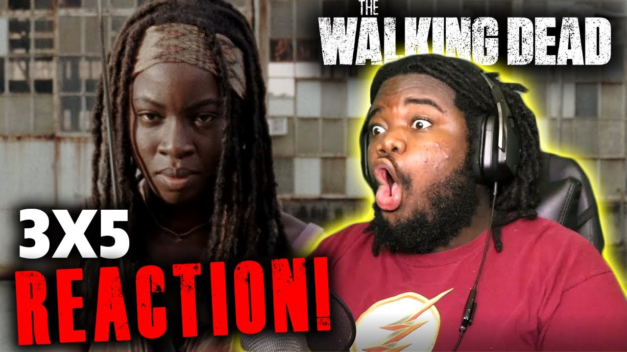 """Download The Walking Dead 3X5 REACTION! """"Say The Word"""""""