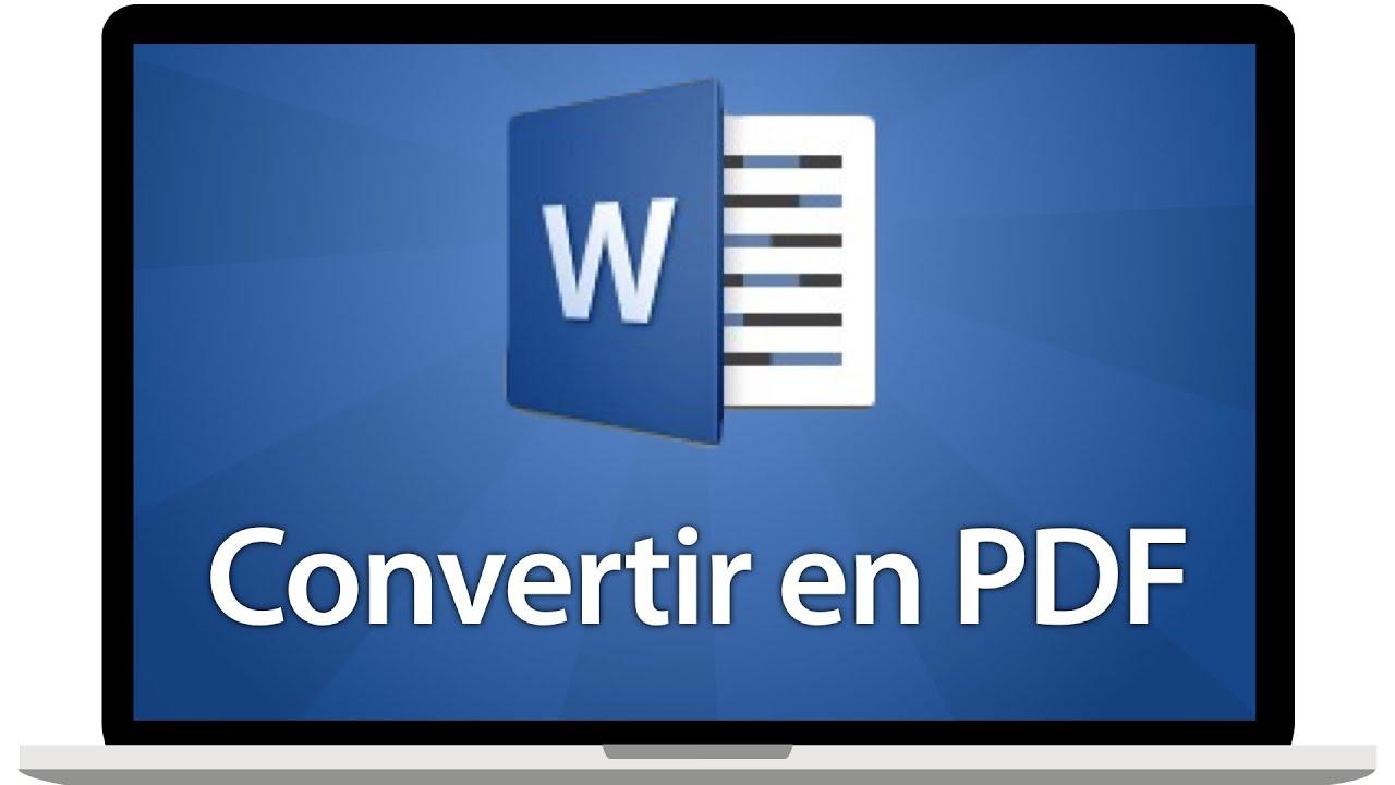 Convertir un fichier Word en PDF sur Mac
