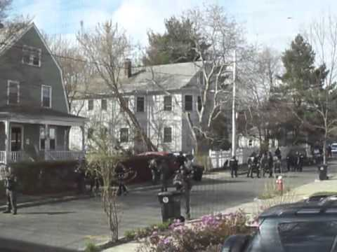 MARTIAL LAW in Watertown, MA - Searching homes without warrants - Treating citizens as criminals