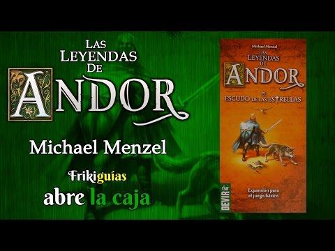 Las Leyendas de Andor: Escudo de las Estrellas - Abre la Caja
