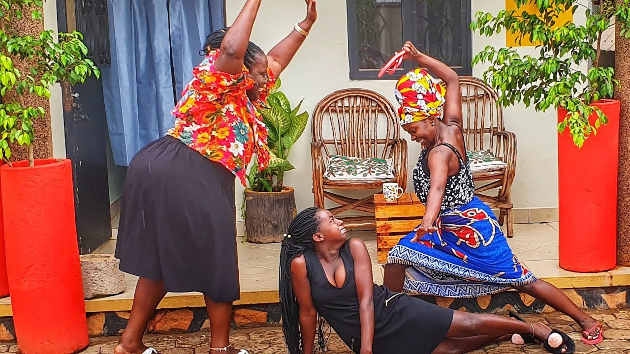 Download Pregnant by association. Kansiime Anne. African comedy.