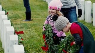 No Veteran Ever Dies - Wreaths Across America