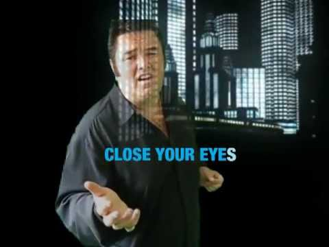 """RON JESSE """"DON`T CLOSE YOUR EYES""""  SING ALONG VERSION 2012 DEDICATED TO ELVIS PRESLEY"""