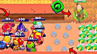 *NEW* BO GADGET vs -10 IQ NOOBS! Brawl Stars Fails & Wins #198