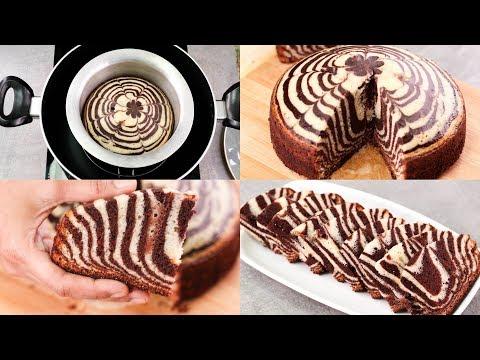 zebra-cake-recipe-in-regular-sauce-pan-l-chocolate-&-vanilla-cake-l-eggless-&-without-oven