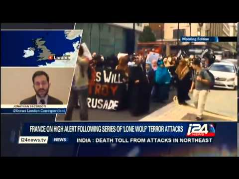 Jonathan Sacerdoti discusses the rise of Islamic extremism in Europe on i24news