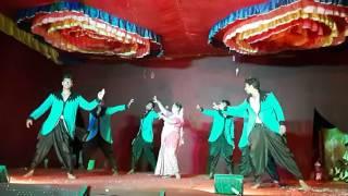 mattu da ponnu dance by latha and JD boys kolachikamla