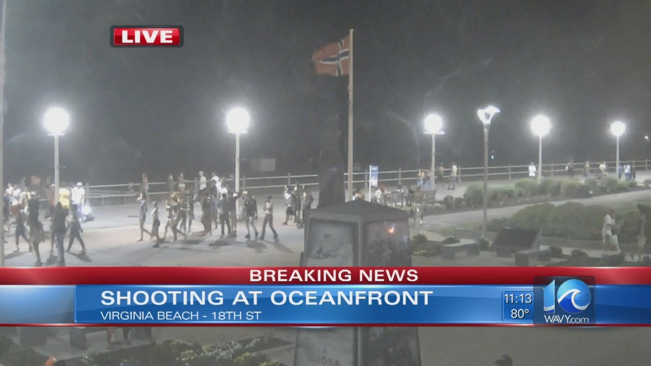 Report Of Shooting On 18th Street At Va. Beach Oceanfront