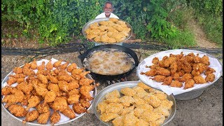 KFC Chicken Recipe | Crispy KFC Style Chicken Drumsticks | Home Made KFC Chicken By Grandpa