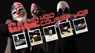 Payday 2: Gage Mod Courier - Fastest way to get the DLC packages!