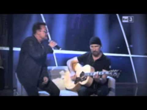 U2 Live Guitare Acoustic Every Breaking Wave(Voice Official)BBC2015