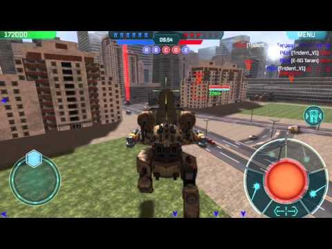 Rhino Review (part 1) - War Robots - Test Server