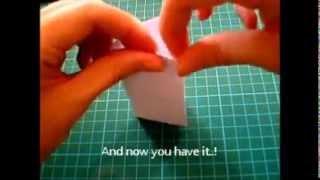 Origami lesson : Triangular prism..!