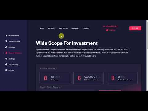NEW BITCOIN MINING 10 GHS FREE (WITHOUT INVESTMENT )HIGH BITCOIN EARNINGS