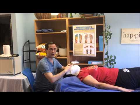 Hot Towels On The Face For Face Reflexology