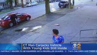 Connecticut Car Thief Drives Off With 2 Kids In Car